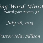 living word ministry july28-2013